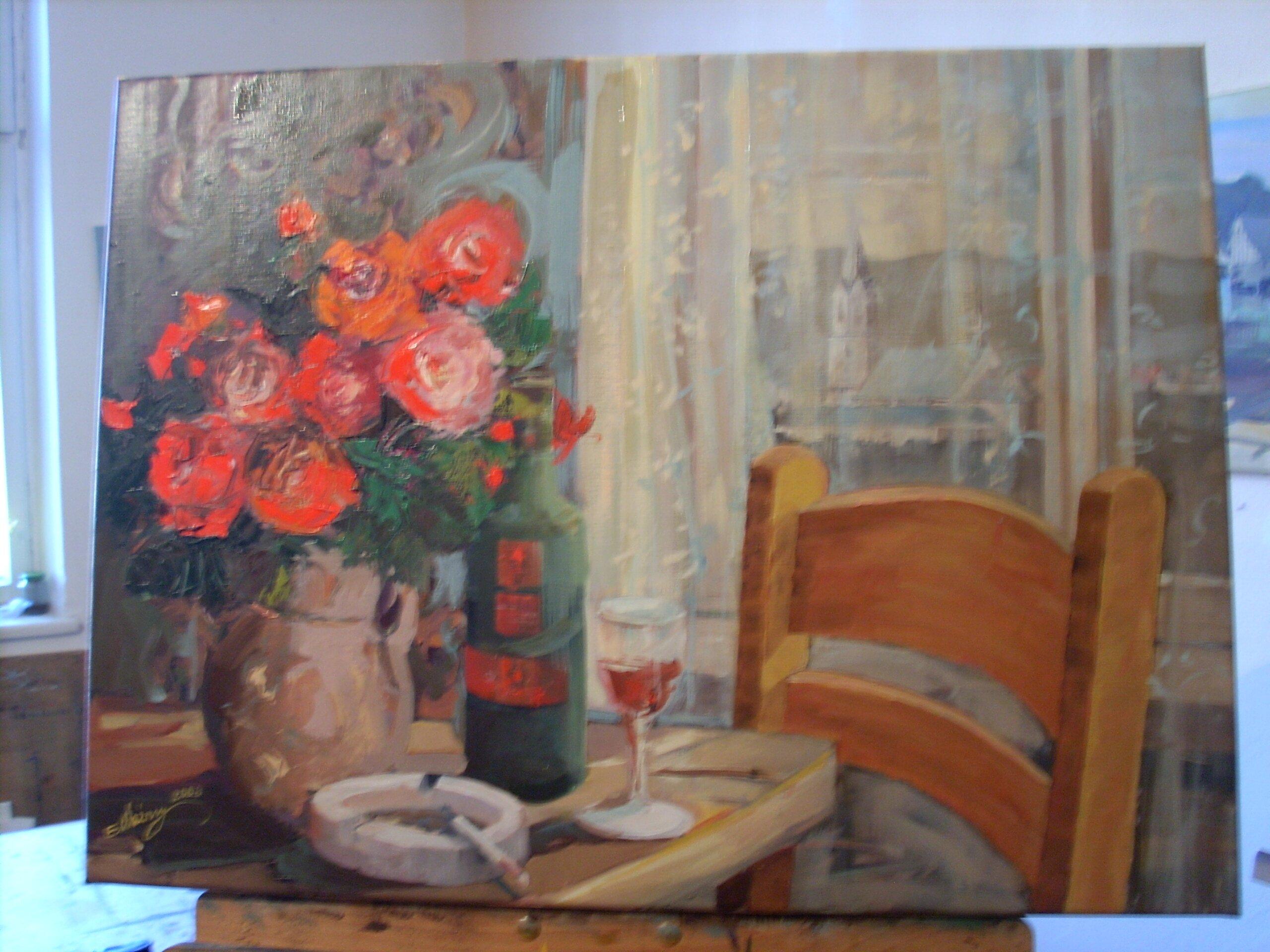 Róże i wino