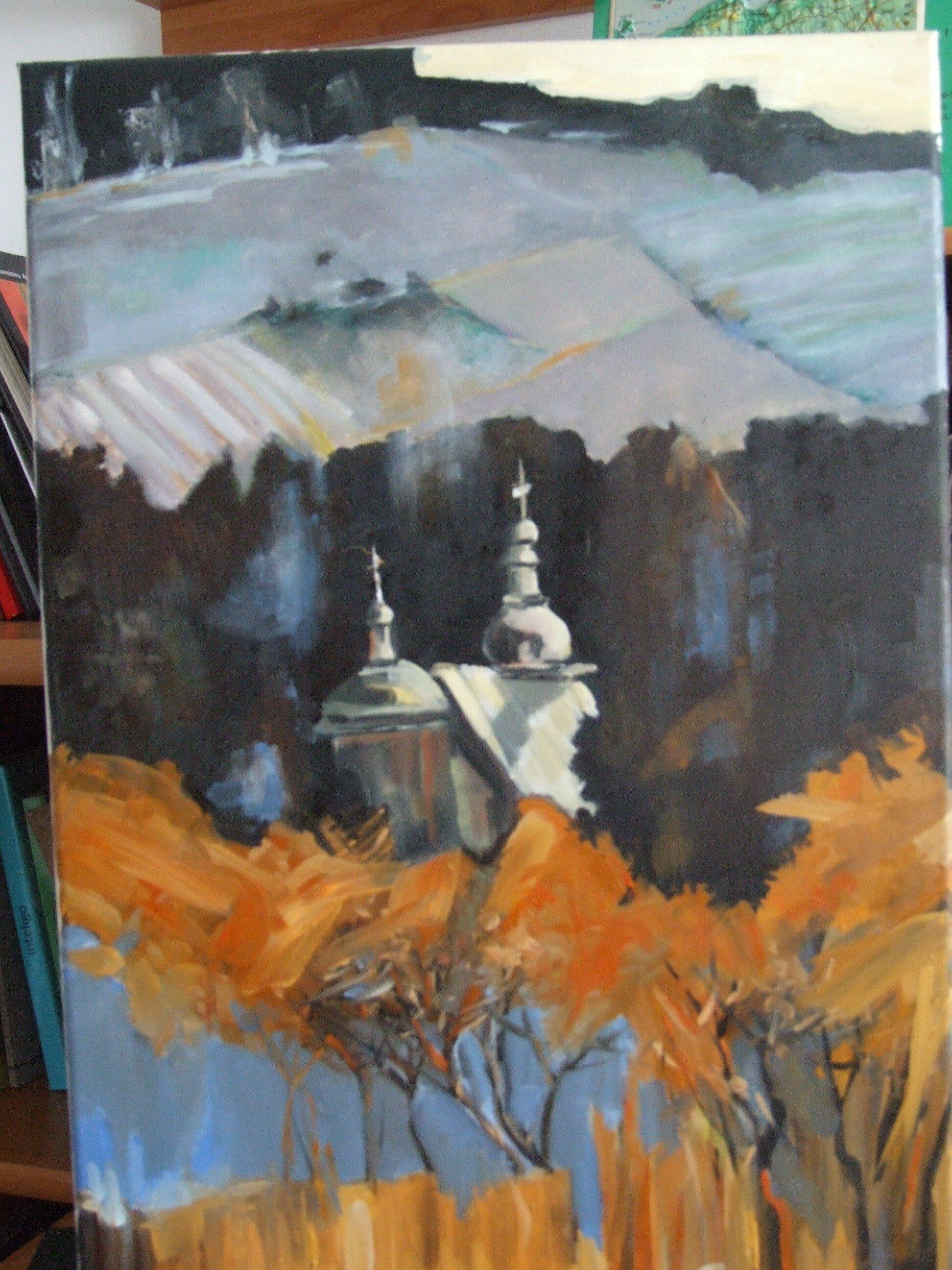 Zapomniana cerkiew w górach
