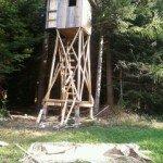 Dudy Pole - ambona ocieplana z balkonem