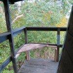 Ławeczka balkonowa