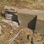Zdj. 17. Defekt betonowego szczudła